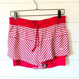 Nike Striped Layered Shorts M